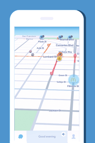 Nearby Arrow Waze Ads