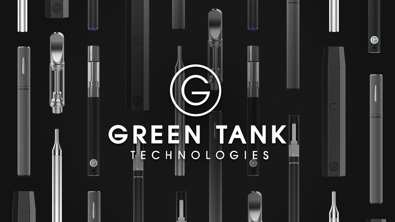 Green Tank Technologies Logo w/ background